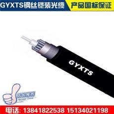 GYXTS一圈钢丝铠装光缆型号 架空地埋光缆厂