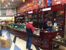 深圳龍崗酸枝亮光漆面紅酒展示柜制作工廠案