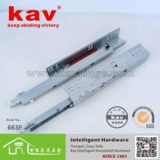 丽水滑轨生产厂家 不锈钢钢珠滑轨 凯威滑轨