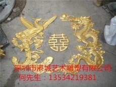 找可靠的生产龙凤双喜雕塑厂家