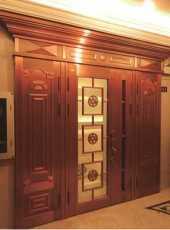 浮雕铜门价格-复古铜门价格-家得福铜门