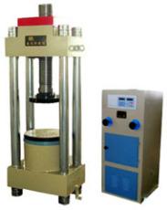 电液式压力试验机 螺杆电动升降