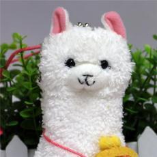 羊驼零钱包毛绒创意卡通玩具系列厂家定制
