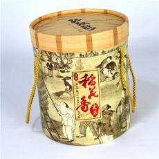 圆桶大米包装盒