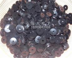 车载支架防滑垫 固定硅胶圈 黑色磨砂硅胶