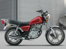豪爵铃木GN125-2太子车复古式摩托车