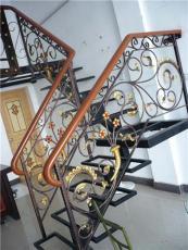重慶鐵藝樓梯及樓梯欄桿設計制作為一體