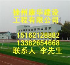徐州康华体育公司塑胶跑道塑胶球场划线